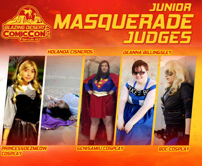 Junior Masquerade Judges